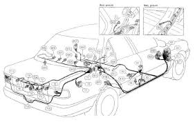 nissan pulsar sunny wiring diagram and electrical system