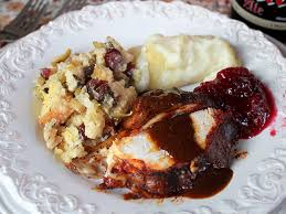 Turkey Basting Recipes Thanksgiving Achiote Butter Basted Roast Turkey With Ancho Chile Gravy