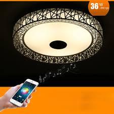 Changing Ceiling Light Bird Nest Wireless Bluetooth Led Ceiling Light Multi