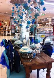 Myer White Christmas Decorations by 358 Best Blue Christmas Images On Pinterest Blue Christmas