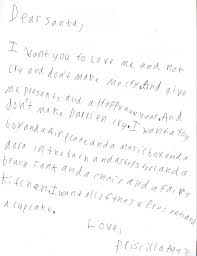 santa writing paper letters to santa a renaissance woman my kids have prepared their letters to santa my 11 year old transcribed while the 3 year old rattled off her list hopefully you can read it