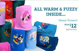 disney store personalized fleece blankets or pullovers 13 00
