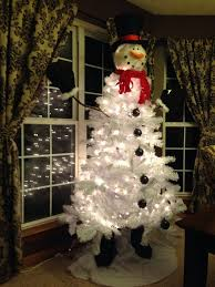 Decorate Christmas Tree Top by 23 Best Snowman Tree Images On Pinterest Snowman Tree Snowman