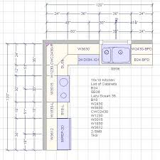 Cost Of Kitchen Cabinets Example Of A 10 X 10 Kitchen Cabinet Design And Costs