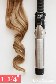 best curling wands for thick hair curling tool guide size comparison missy sue hair pinterest