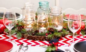 Christmas Decorations Ideas For Tables by 30 Pretty Christmas Table Decoration Ideas