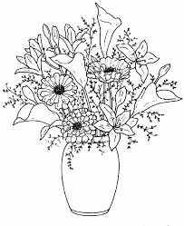 Draw A Flower Vase Gallery Simple Flower Vase Sketch Drawing Art Gallery