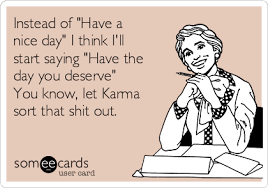 e cards my of attraction of attraction karma