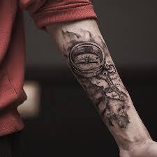 best men arm tattoos szukaj w google tato pinterest tattoo forearm compass