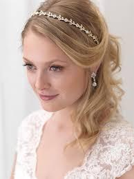 wedding headband single vine gold headband shop bridal accessories usabride