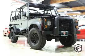 land rover defender 110 convertible 1997 land rover defender fusion luxury motors