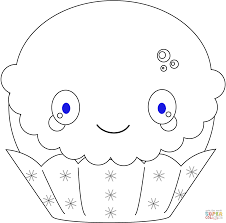 cupcake with castle coloring page free printable coloring pages