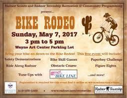 bike rodeo radnor pa official website