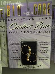 earrings for sensitive ears australia bio care earrings 6 sensitive ears comfort vq1129jsht for sale