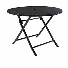Folding Table by Crosley Furniture Palm Harbor Outdoor Wicker Folding Table