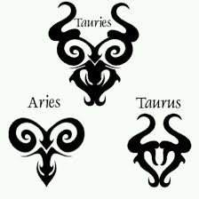 collection of 25 new black pisces and taurus together tattoos