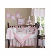Nursery Bedding Set Sweet Jojo Designs Pink Toile 9 Crib Bedding Set
