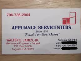 Appliance Business Cards Appliance Service Center Augusta Ga U2013 Negative Review Computer