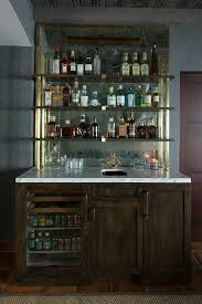 Modular Bar Cabinet Captivating Glass Door Bar Cabinet 6 Modular Bar Wall Unit 2