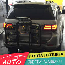 car styling tail lamp for toyota fortuner led tail light 2012 2014