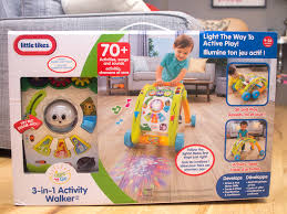 little tikes easy adjust play table little tikes light n go 3 in 1 activity walker