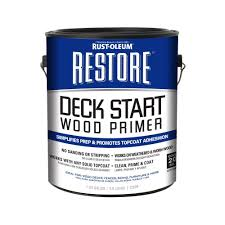 rust oleum restore 1 gal deck start wood primer 287517 the home