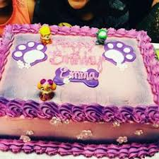 paw patrol girls edible birthday cake topper birthday paw