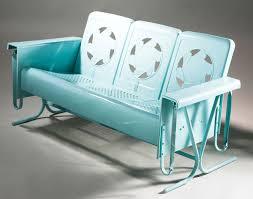 vintage deco inspired porch glider restoration hometalk