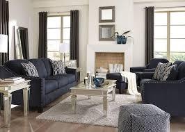 blue livingroom klein 3pc living room blue living room sets living room