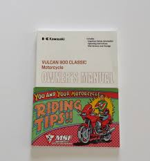 kawasaki 2010 vulcan 900 classic motorcycle owners manual vn900ba