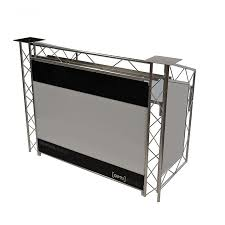 photo booth equipment dj equipment portable dj booth opti cs150 station dj gear