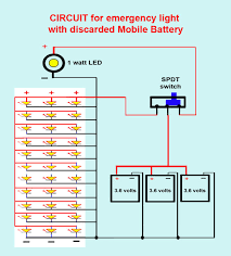 emergrncy light with mobile phone battery 6 steps with pictures