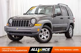 jeep 2005 liberty pre owned 2005 jeep liberty sport 4x4 in lasalle pre owned