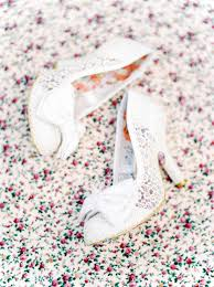 Wedding Shoes Irregular Choice Rustic Wedding At Shustoke Farm Barn With Floral Bridesmaid Dresses