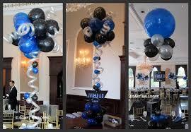 Elegant Balloon Centerpieces by Bar Mitzvah Centerpieces Bar Mitzvah Balloon Decor Provided By
