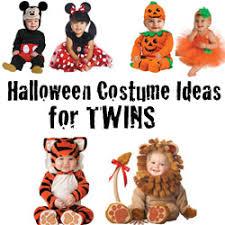 Twins Halloween Costumes Infant Twin Halloween Costume Ideas