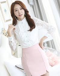 White Blouse With Black Bow 2017 Fashion Blouses Lace Blouse Ladies U0027 Blouses Lace Blouses