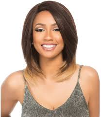 16 Inches Hair Extensions by Sensationnel Brazilian Keratin Remi 100 Human Hair Lace Front Wig