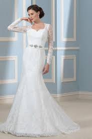 robe de mari e simple dentelle robe de mariée simple gillne fr