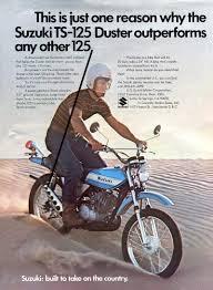 suzuki ts125 model history