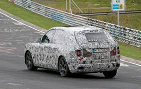 rolls royce cullinan looks so out of place at the nurburgring