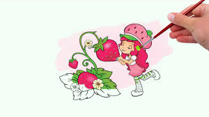 strawberry shortcake coloring pages coloring book game youtube