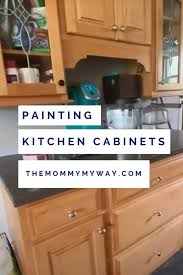 how to paint kitchen door knobs easiest way to paint kitchen cabinets my way