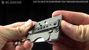 creditor ii money clip credit card knife overview