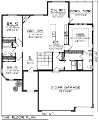 ranch style house plan 3 beds 2 00 baths 1626 sq ft plan 70 1240