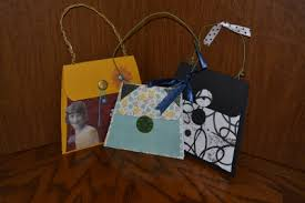 purse mini scrapbooks