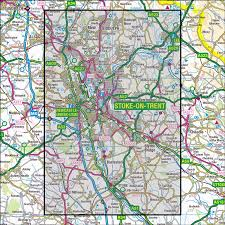 Lyme Map 258 Stoke On Trent U0026 Newcastle Under Lyme Os 1 25 000 Explorer