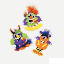 amazon com monster magnet craft kit crafts for kids u0026 magnet