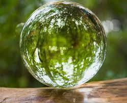 Glass Globes For Garden Use Of Crystal Balls In Feng Shui And Healing
