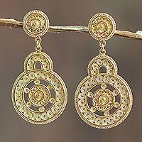 filigree earrings unicef market sterling silver filigree earrings